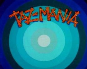 Taz mania show card
