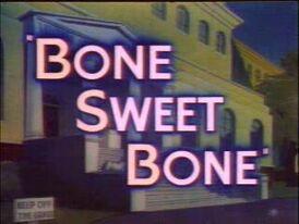 Bone Sweet Bone