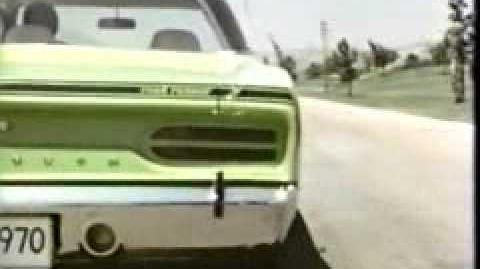 70 Plymouth Roadrunner Commercial 2