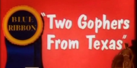 Two Gophers from Texas