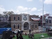 Police Academy Stunt Show set