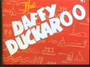 The Daffy Duckaroo (Redrawn Colorized)