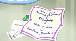 Porky's Wedding Invitation - Here Comes The Pig