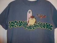 Men's T-Shirt,Tasmanian Devil,Size M,Unisex,Looney Tunes,,Graphic T,Short Sleeve