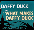 What Makes Daffy Duck
