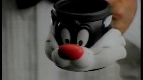 Looney Tunes KFC Mugs Australian Commercial 1993