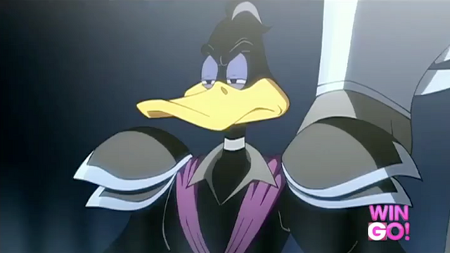 File:Daffy as Zod.png