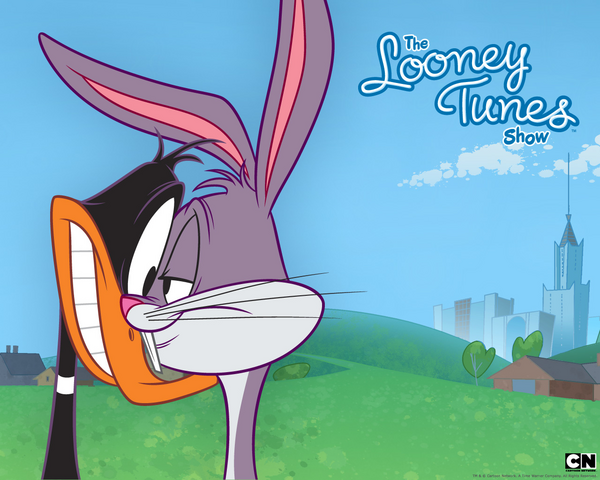 File:Bugs and Daffy Wallpaper.png