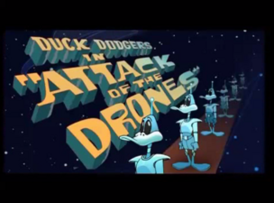Attack of the Drones Title Card