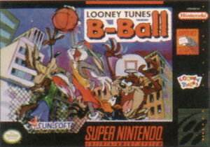 Looney Tunes B-Ball front