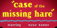 Case of the Missing Hare