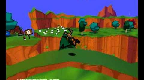 Sheep, Dog, 'n' Wolf (PC) - Level 1