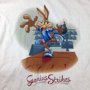 1999 Warner Bros Wile E. Coyote Looney Tunes Genius Strikes