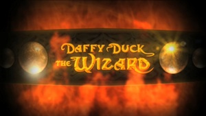 Daffy Duck the Wizard title card