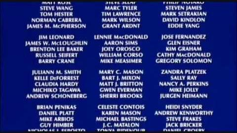 Gremlins 2 Credits featuring Daffy Duck