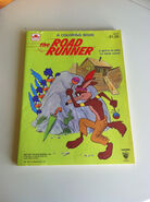 The Road Runner 1981 Coloring Book , Warner Brothers Coloring Book , Vintage 80s Unused Coloring Book , Wile E. Coyote Coloring Book