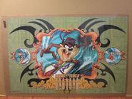 Vintage 2000 Looney Tunes original Freeriders Sea Division poster surfing 6095