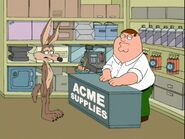 Wile E. Coyote family guy