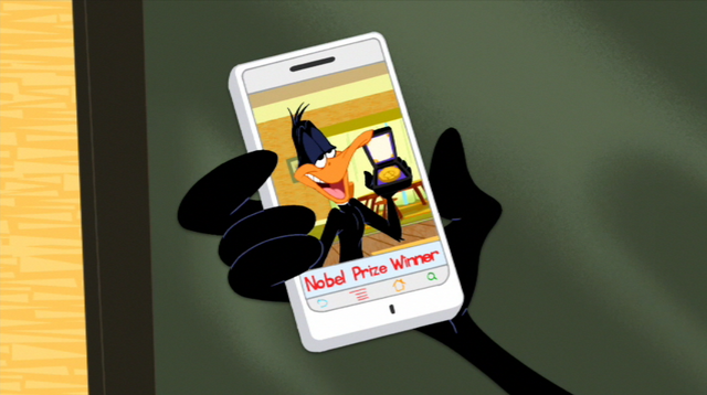 File:Daffy's Phone - Spread Those Wings & Fly.png