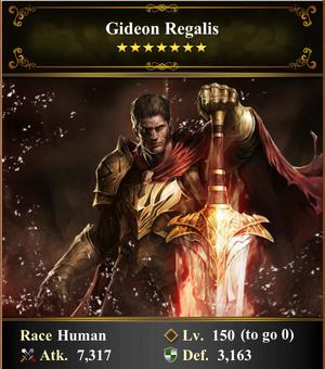 Card - Gideon Regalis