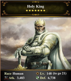 Card - Holy King