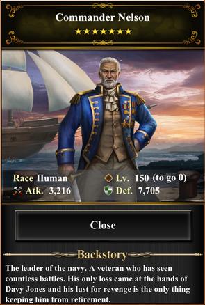 Commander Nelson
