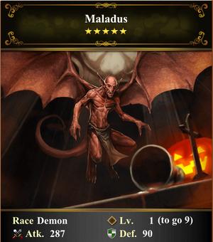Card - Maladus