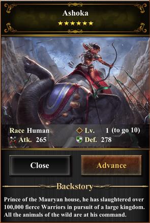 Card - Ashoka