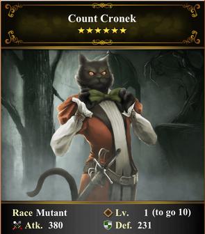 Card - Count Cronek