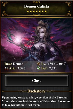 Card - Demon Calista-max