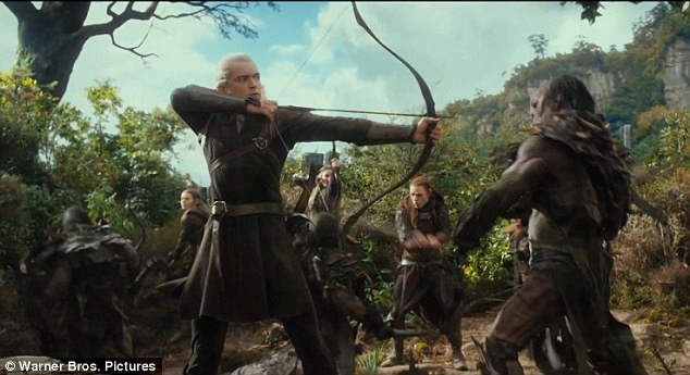 Image - Legolas vs Orcs.jpeg | Lord of the Rings and The ...