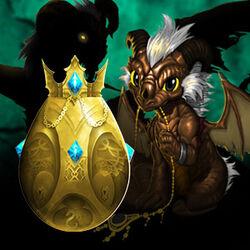 Aqdragon-egg-gold