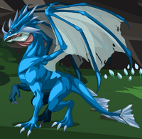 Young Blue Dragon
