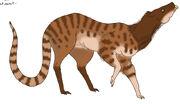 Primeval predator rat by pristichampsus