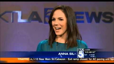 Anna Silk interview - KTLA Morning News (2015)