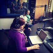 Zoie Palmer Ward and Al (Canada Talks SiriusXM) November 2013 (2)