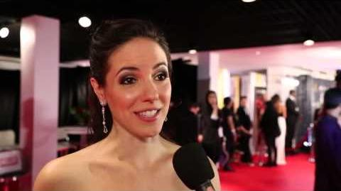 Anna Silk Interview (2014 Canadian Screen Awards)
