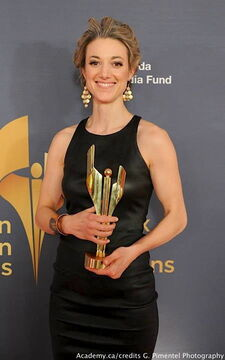 Zoie Palmer 2014 CSA Fan Choice Award