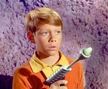 Will Robinson and Laser Pistol