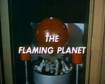 Flaming planet