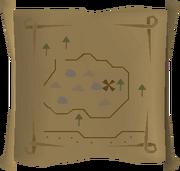 Map clue Falador stones