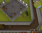 Map clue solution Yanille anvil