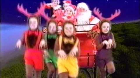 The Wiggles - Go, Santa, Go Promo for Wiggly Wiggly Christmas (1996)