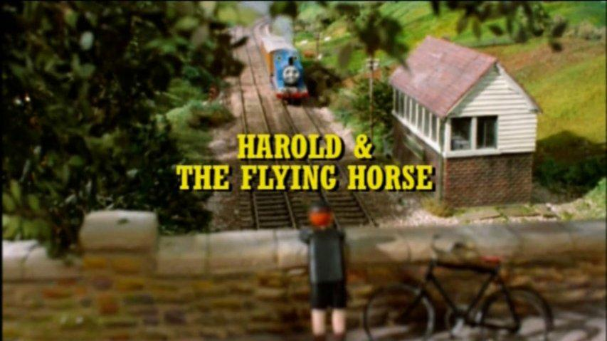 Harold and the Flying Horse - American Narration