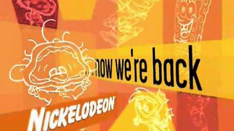 Lost Nickelodeon Pictograph Bumpers (2002 - 2003)