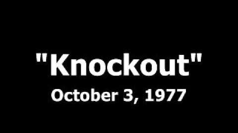 Knockout -- First episode audio