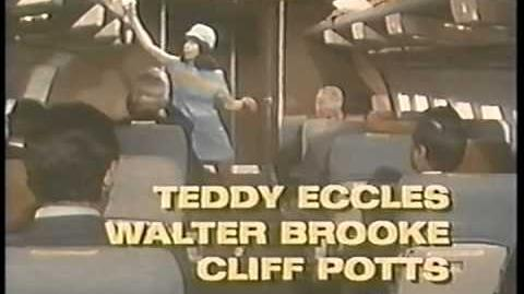 SAN FRANCISCO INTERNATIONAL AIRPORT Made for TV 1970 - Pernell Roberts, Clu Gulager, Beth Brickell