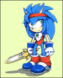 Sister Sonic (Mail The Popful)