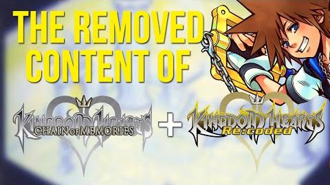 The Removed Content of Kingdom Hearts Chain of Memories and Re Coded