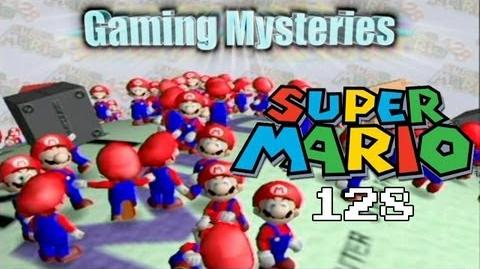 Gaming Mysteries Super Mario 128 Tech Demo (GCN Wii)-0